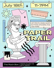 Paper Trail 2021 Official Poster - Uploaded by blackmoonprint