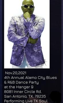 T. K. Soul 4th Alamo City Blues Show - Uploaded by TravelingEast