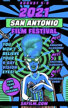 The San Antonio Film Festival (SAFILM) returns for a live, in-person event on August 5-8, 2021 at Radius, located directly across the street from the Tobin Center, at 106 Auditorium Circle Suite 120, San Antonio, TX.  Tickets on sale now! - Uploaded by SAFILM