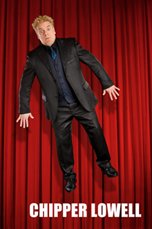 Chipper Lowell, Comedy magician. - Uploaded by envoute