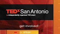 Upcoming San Antonio events include TEDx and Fiesta at OLLU