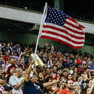 U.S. National Women's Soccer Team Beats Australia 4-0 at the Alamodome