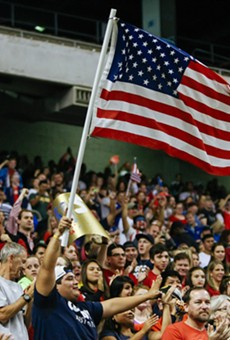 U.S. National Women's Soccer Team Beats Australia 4-0 at the Alamodome