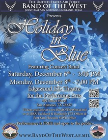 "USAF Band of the West's ""Holiday-in-Blue"""