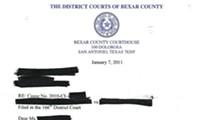 Valentine's Day in Bexar County divorce court (Part 1)
