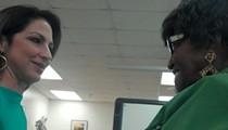 Video: Gloria Estefan reunites with her 1st Grade Teacher in SA