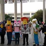 Vote for UTSA 'Lego Movie' Costumes in George Takei's Halloween Costume Contest