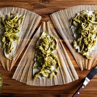We Don't Know What to Make of These Turkey Tamales