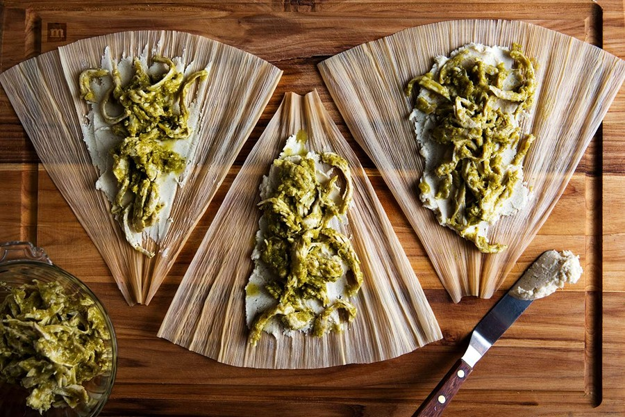Turkey tamales from Tamales Place of Texas in Leander - COURTESY OF 'THE NEW YORK TIMES'