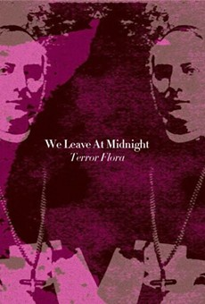 The cover of We Leave At Midnight's impending Terror Flora EP