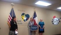 Wendy Davis touts legislative efforts to address untested rape kits