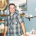 Artist Wesley Harvey on homoeroticism, dinnerware, and bunnies