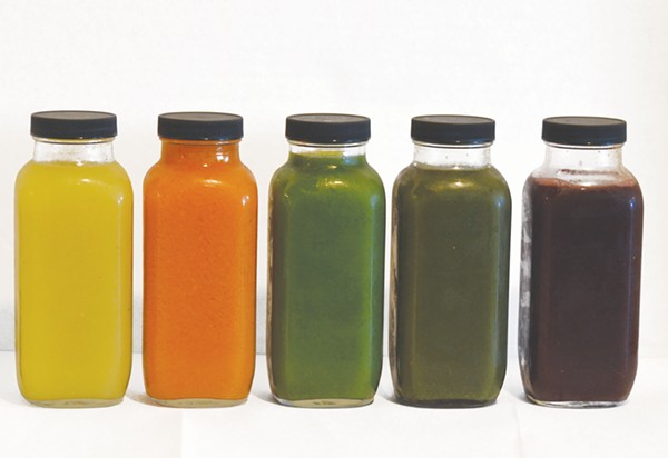 When it comes to juice, your choices are plenty - JESSICA ELIZARRARAS