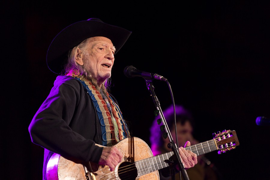 Willie Nelson at his three-day residency at Whitewater Amphitheater in New Braunfels - JEFFREY BURTON