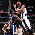 With Popovich Out, Spurs Win Over Pacers 106-100