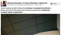 WTF Friday: Snake Found in San Antonio Starbucks Toilet