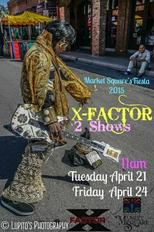GUADALUPE LUPITO ACUÑA - LUPITO'S PHOTOGRAPHY - X-FACTOR - Fiesta Market Square 2015