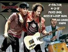 X-FACTOR Rocks PICKS BAR in April