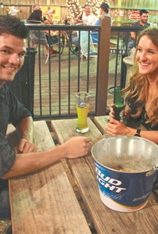 You can find good patios outside Loop 1604