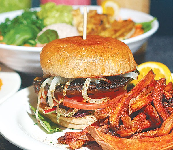 You'll have time for this quickie Green burger - COURTESY PHOTO