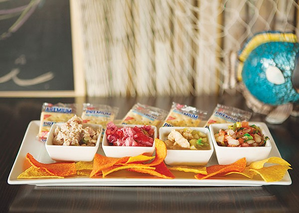Your best bet: stick with the ceviche sampler - ANA AGUIRRE
