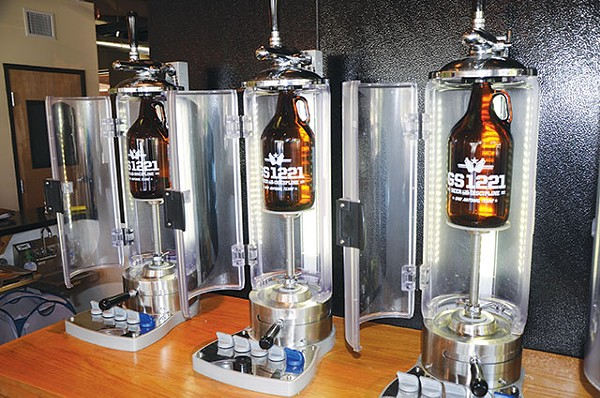 You're just minutes away from fresh beer to go - BRYAN RINDFUSS