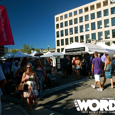 2011 Utah Arts Festival by The Word (6.23-26.11)