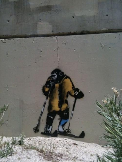 A Banksy graf