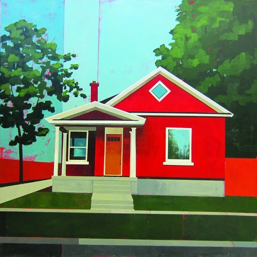 A painting by Justin Wheatley at Art Access