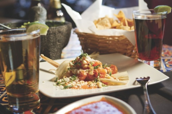 Alamexo Mexican Kitchen's Tamal de Elote