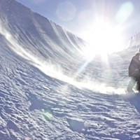 Alex Schlopy on the superpipe
