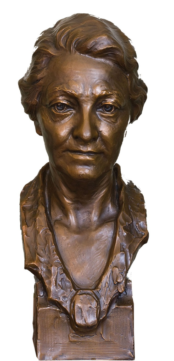 Alice Merrill Home bust by Avard Fairbanks