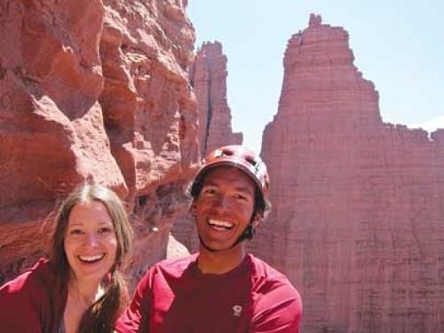 Amanda Catano and Jason Dorais - COURTESY JIM CATANO