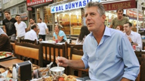 Anthony Bourdain - COURTESY TRAVEL CHANNEL