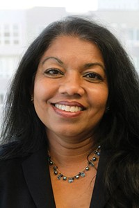 """""""Any time a prosecutor feels strongly they are welcome to come in and discuss with me a departure from the guidelines."""" - —Padma Veeru-Collings, Salt Lake City chief prosecutor - COURTESY PADMA VEERU-COLLINGS"""
