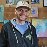 Art Adoption Founder Josh Scheuerman