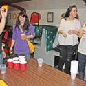 Beer Pong @ VFW, W Lounge goes green & Sandbar's birthday