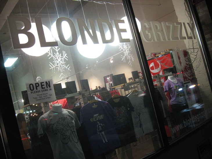 Blonde Grizzly: 12/2/11