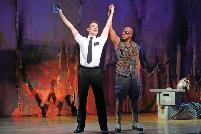 Broadway Across America's The Book of Mormon