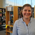 Brooke Young of the Printz Award Committee