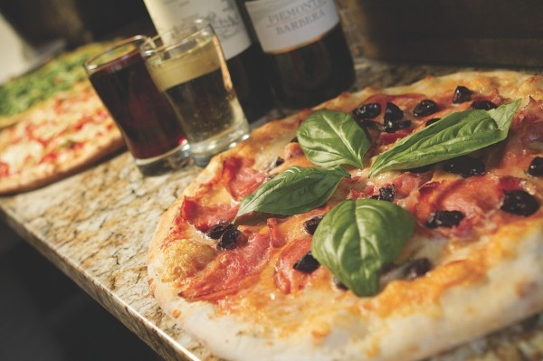 Cafe Galleria's Neapolitan-style pizzas all feature local artisan cheese. - JOHN TAYLOR