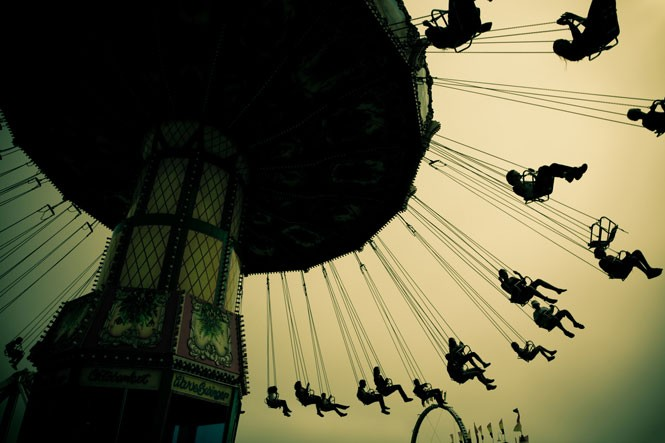 """Carousel Swing"" by Kent Budge"