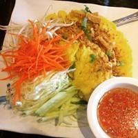 Chabaar Thai Vegan Omelet