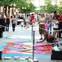 Chalk Art Festival at the Gateway