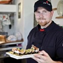 Chef Daniel Linder of Ahh Sushi