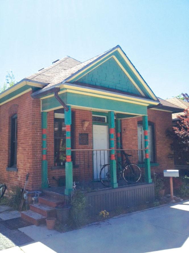 Chris Condit's home on Montrose Avenue