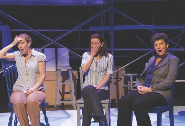 Christy Summerhays, Stephanie Howell and Teresa Sanderson in 3