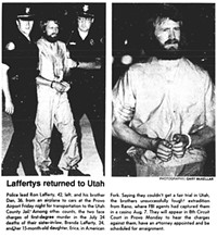 Clippings from 1984 issues of the Deseret News