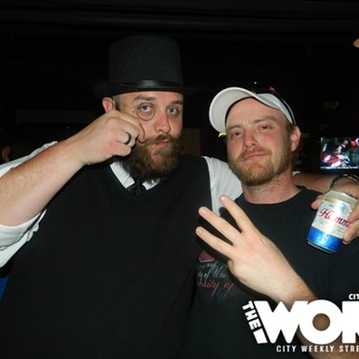 Club Night at Bourbon House: Moustache & Beard Competition (4.22.12)