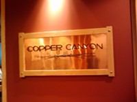 Copper Canyon Restaurant in downtown Salt Lake City